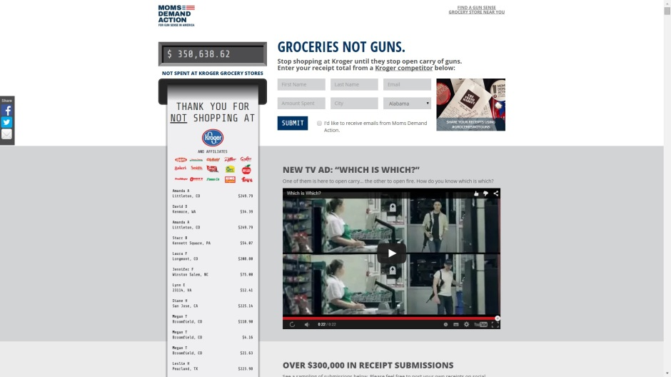 GROCERIES NOT GUNS4